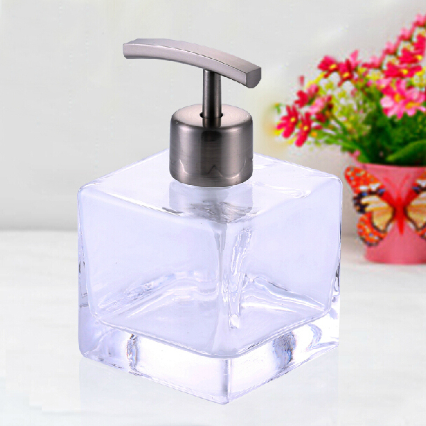 Kitchen Soap Dispenser Bottle: Bathroom Kitchen Liquid Soap Dispensers Glass Bottle