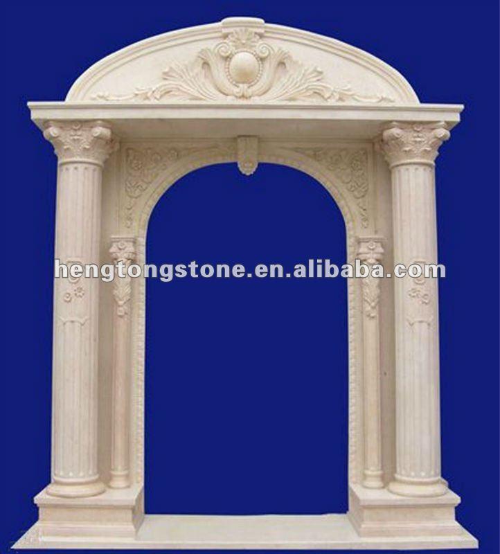 Superior Roman Column White Marble Arch Door Frame   Buy Marble Arch Door Frame,Roman  Column Arch Door,Arch Door Frame Product On Alibaba.com