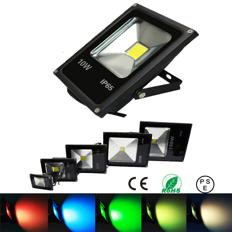 10w 20w 30w 50w led floodlight spotlight outdoor lighting rgb spot flood light lamp reflector. Black Bedroom Furniture Sets. Home Design Ideas
