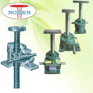 NOSEN electric motor screw jack as speed reducer for machine factory