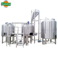 Commercial 50l 1000L 2000L brewery/micro brewery equipment/ semi-automatic beer brewing system