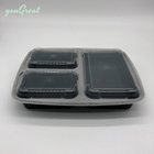 950ml plastic food packaging container 750ml fast box 750 ml