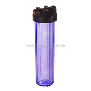 China sanitary ware factory supplier 20inch Clear Plastic Water Filter Housing WF-2134-2