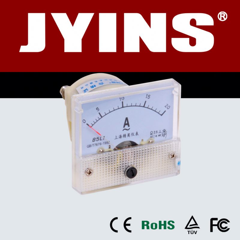 JY-85L1 AC Analog amp panel meter