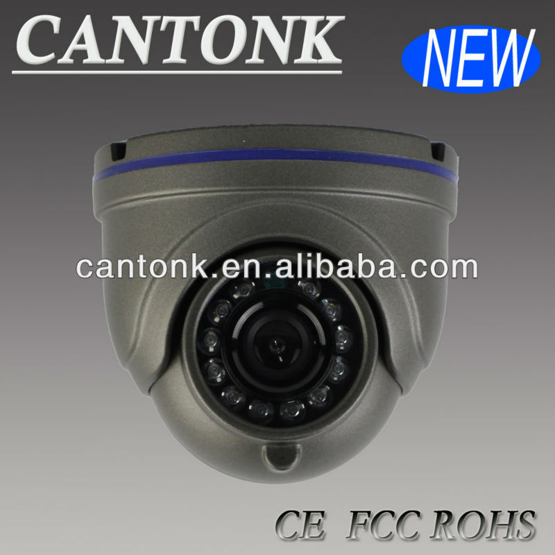 Cheap CMOS 700TV Lines with IR-CUT Dome Camera CCTV Camera