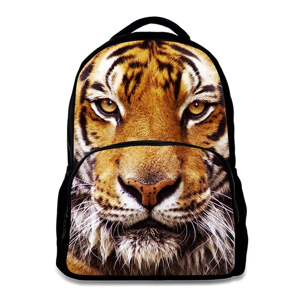 29944c0f5a Animal School Bag Children s Age6-16 Polyester 17 Inch Laptop Backpack  (Tiger)