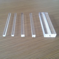 hexagon acrylic rod clear acrylic square rods