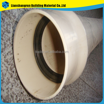 Colored Pvc Rubber Ring Joint Water Supply Plastic Pipe - Buy Rubber ...