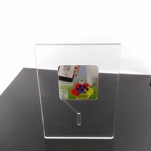 Deluxe thick clear acrylic sign holder & picture frame