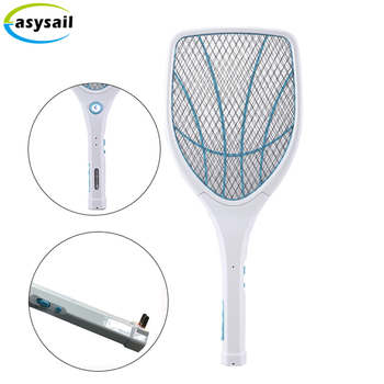 Electronic Heater Tennis Mosquito Killing Bat Racquet Fly Swatters Kill Mosquitoes