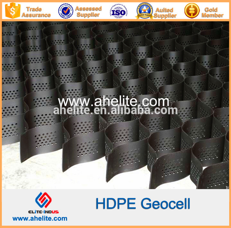 Plastic Stabilized Gravel Paving Gridding Geocell For Driveway
