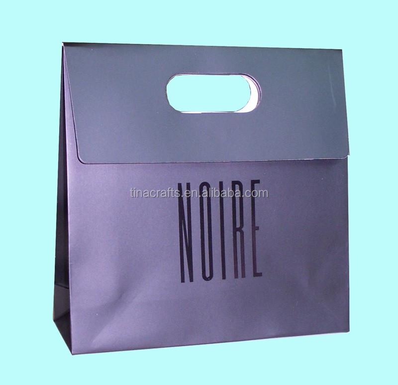 Eco friendly shopping unica kraft paper bag