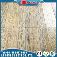 Factory supplier White oiled reclaimed elm art wallboard for club