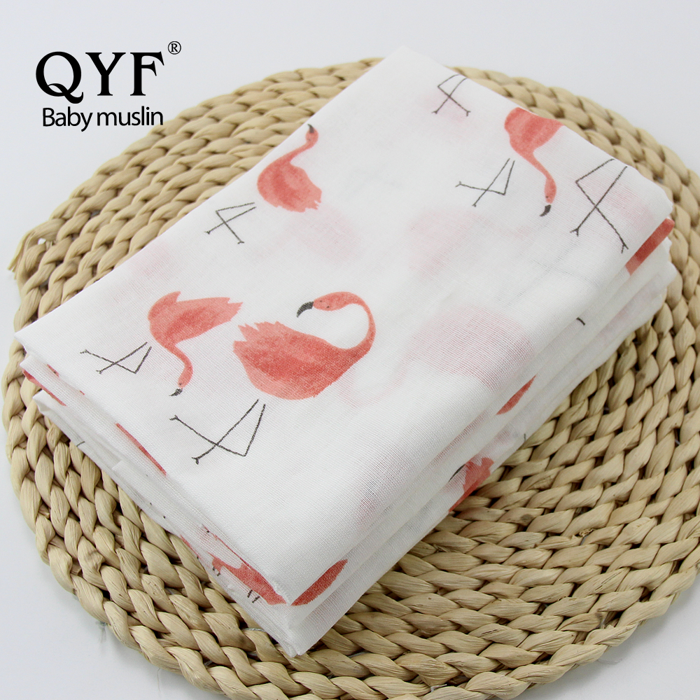 MOF 082 Pure cotton double layers muslin fabric, custom printing muslin
