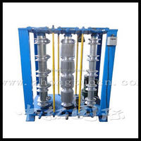 high quality spiral steel silo working machine