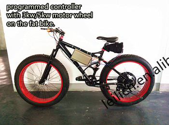3 year warranty fat bike electric bike kit electric biycle for Fat bike front hub motor
