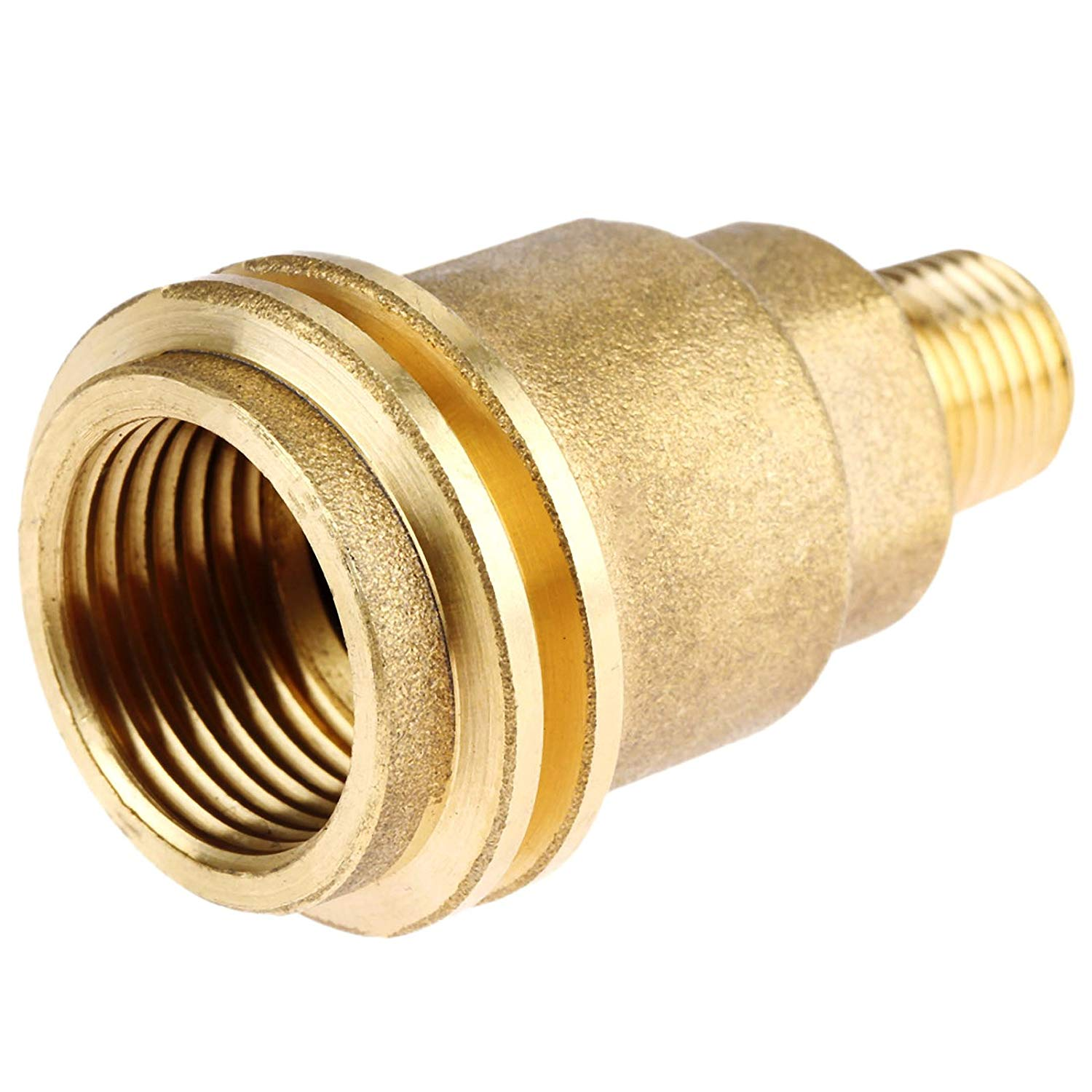 1//4/'/' Propane Fittings Regulator Valve Adapter w// Acme Nut Male Pipe Thread