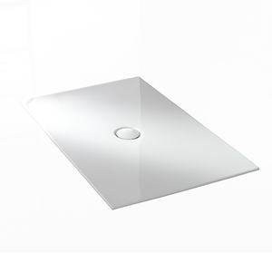 White rectangle bathroom acrylic shower base tray DR0006