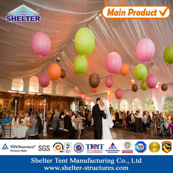Luxury Wedding Tent Decorations