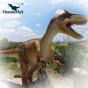 OA J9022 Dinosaur world museum display cases animatronic artificial custom dinosaur