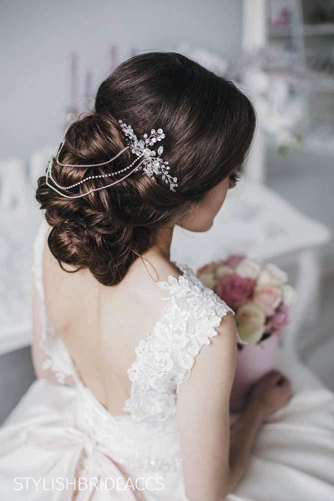 Wedding Hair Piece, Bridal Hair Comb, Crystal Hair Accessories, Crystal Hair Comb, Bridal Crystal Hairpiece, Bridal Crystal Hair Comb