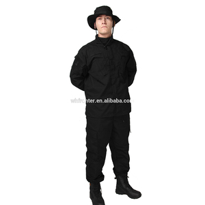 Black Army Combat Uniform Paintball Hunting Uniform Dresses