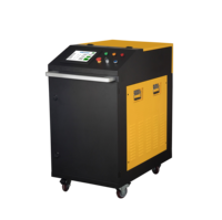 200W Laser descaling machine by laser cleaning equipment
