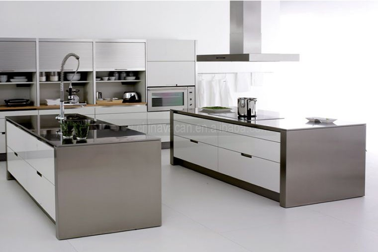 Gloss Matt Wood Kitchen Finishes: Durable Kitchen Cabinet Matt Gloss Lacquer Finish Mdf Core
