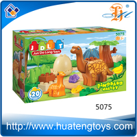 New educational big size dinosaur building block toy for kids