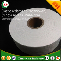 Elastic non woven for baby Diaper,Elastic waistband,raw materials of Diaper