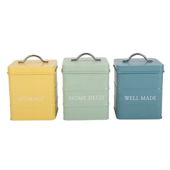 Colorful Kitchen Canisters Set - Buy Colorful Kitchen Canister Set,Tin  Canister,Rubber Seals For Canisters Product on Alibaba.com