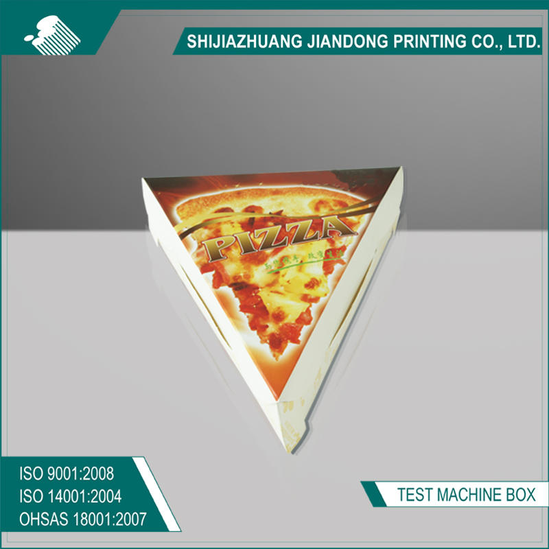 Custom cheap pizza cone box with logo