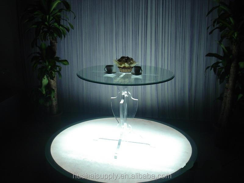 organic glass coffee table leisure table