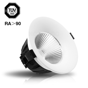 5000K 0-10V/Dali dimmable downlight TUV 30W COB LED downlight 80lm/w 8 inch