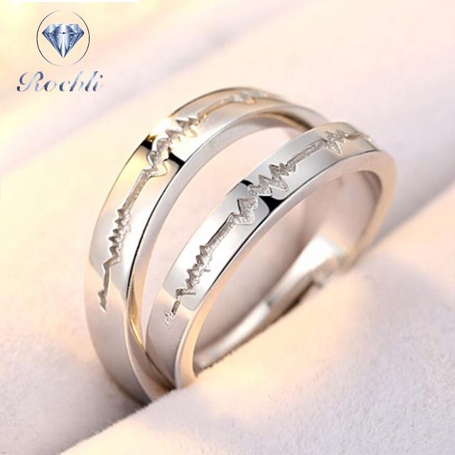 6f97245dc00b Venta al por mayor anillos de boda anillo de acero inoxidable-Compre ...