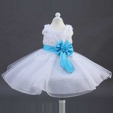 Wholesale New Hot Sales Popular Christmas Baby Girls Kids Flower Party Wedding Prom font b Fancy