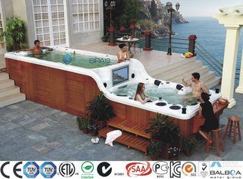 Jnj Spa De Deux Etages Spa De Nage Avec Tv 32 Buy Spa De