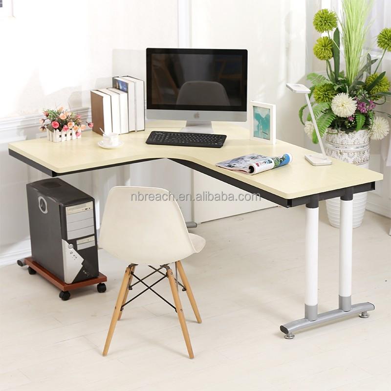 marco de acero moderno nuevo llega oficina de madera escritorio de oficina - Escritorios Modernos