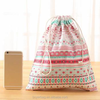 Toys Cotton Gift Canvas Cheap Custom Drawstring Bags No Minimum ...