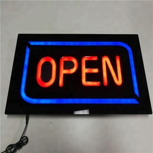 Bar store advertising hanging display board Mini LED flashing message sign board