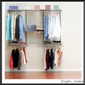 diy garderobe personnalisac pale systame dressing de poteau garde robe en aluminium garderoben