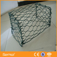 Double Twisted Hexagonal Mesh Galvanized Steel Gabion Ring (Manufacturer)