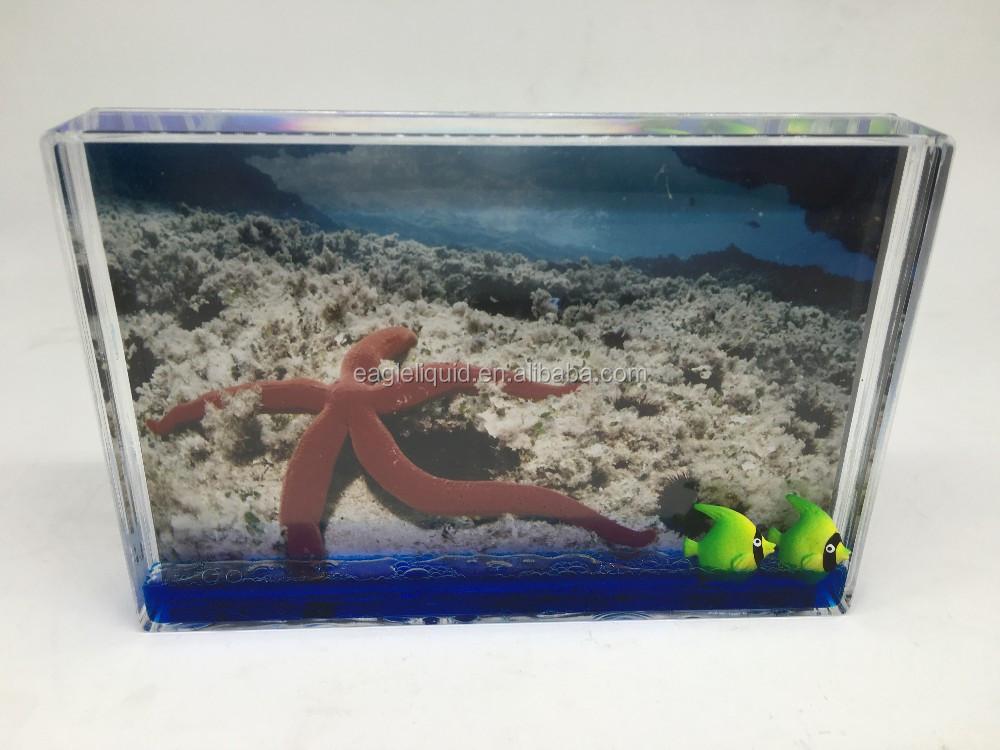 Rechteckigen Wasser Bilderrahmen Aqua Blox Instax Glitter ...