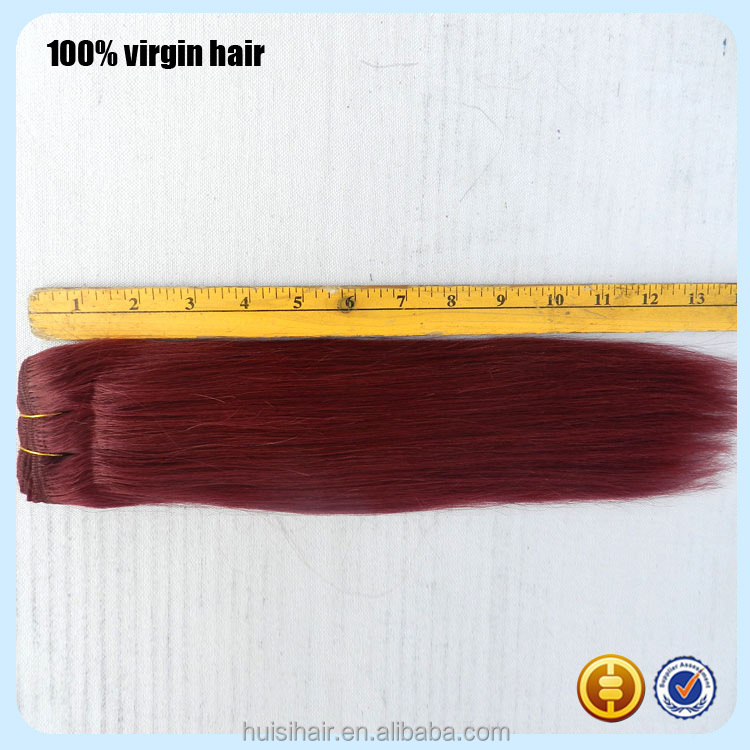 2016 New Arrival Tangle Free Top Virgin Best Quality Human Hair Testing For The Hair Weft #350