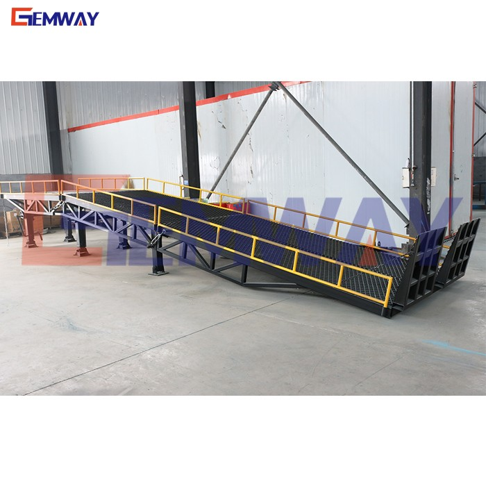 Factory price hydraulic loading dock ramp levelers for sale