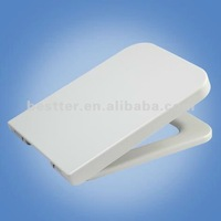 Sanitary ware duroplast UF square toilet seat cover with soft close