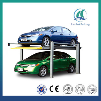 Portable Car Park Lift Movable 4 Post Car Parking Lift Buy