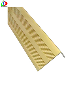 Bronze Stair Nosing, Stair Parts Aluminum Step Nosing