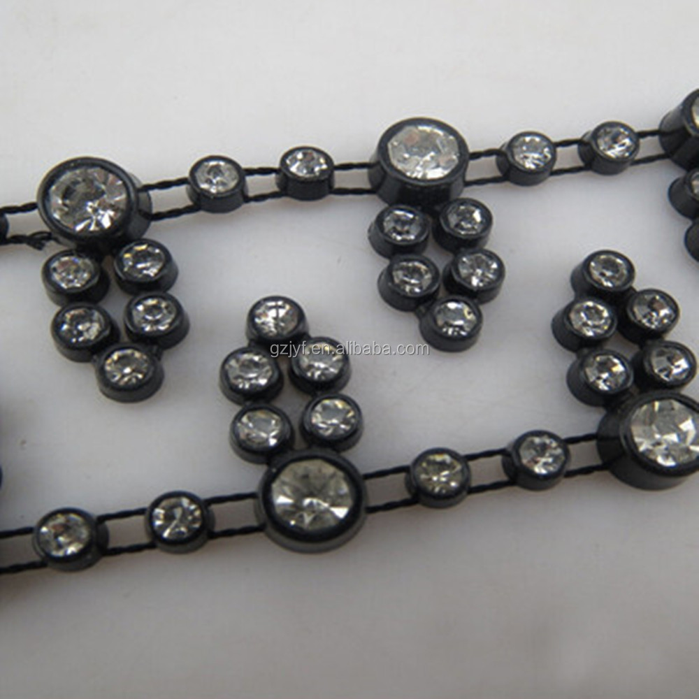 Wholesale rhinestone trim for decoration