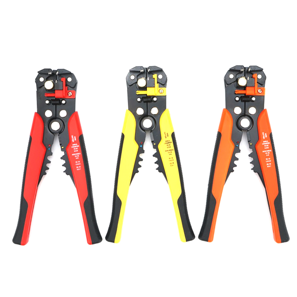 Amazon 19pcs Crimper Cutter Stripper Cable Testing Hand Tool Set RJ45/12/11 Network Tool Kit Set